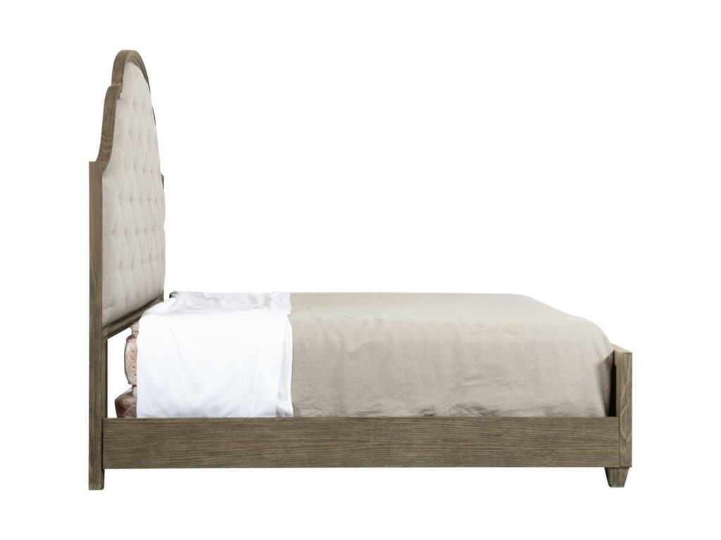 Bernhardt Canyon RidgeCustomizable Upholstered Tufted Queen Bed
