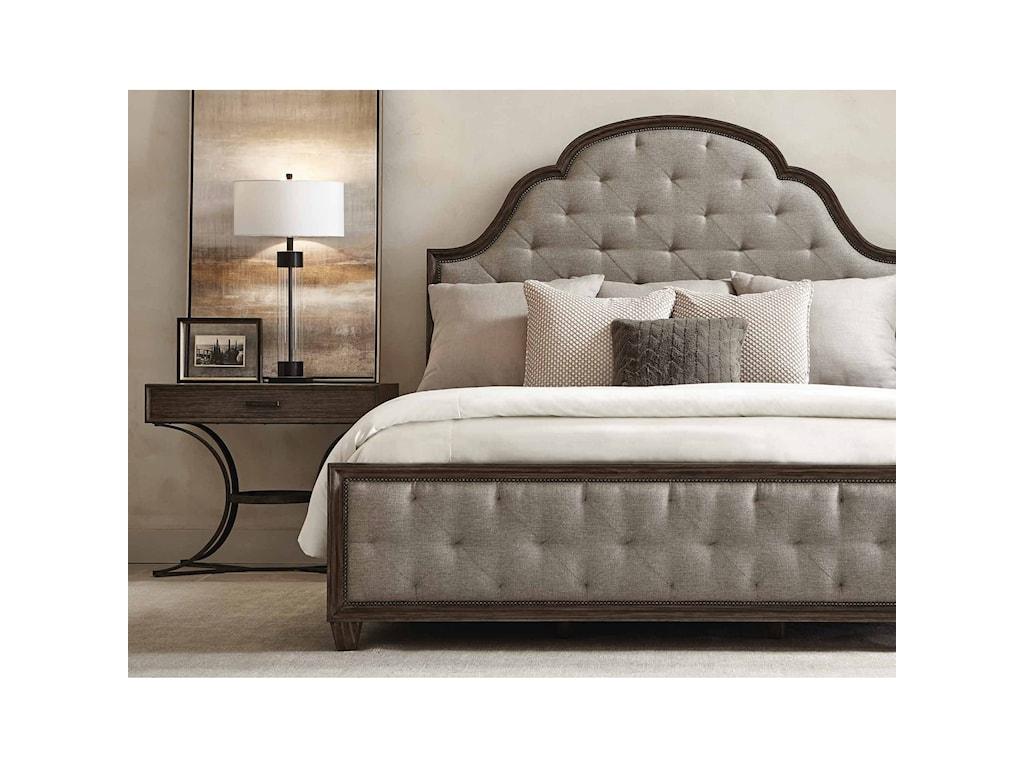 Bernhardt Canyon RidgeCustomizable Upholstered California King Bed