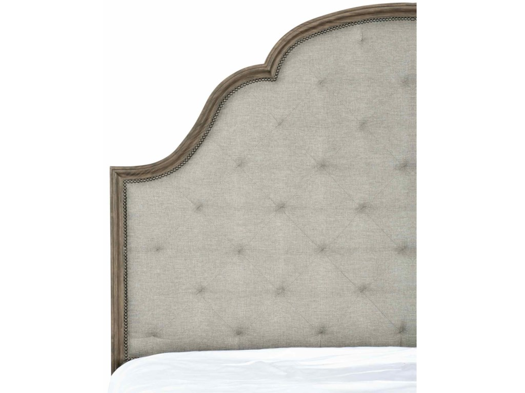 Bernhardt Canyon RidgeUpholstered Tufted King Bed