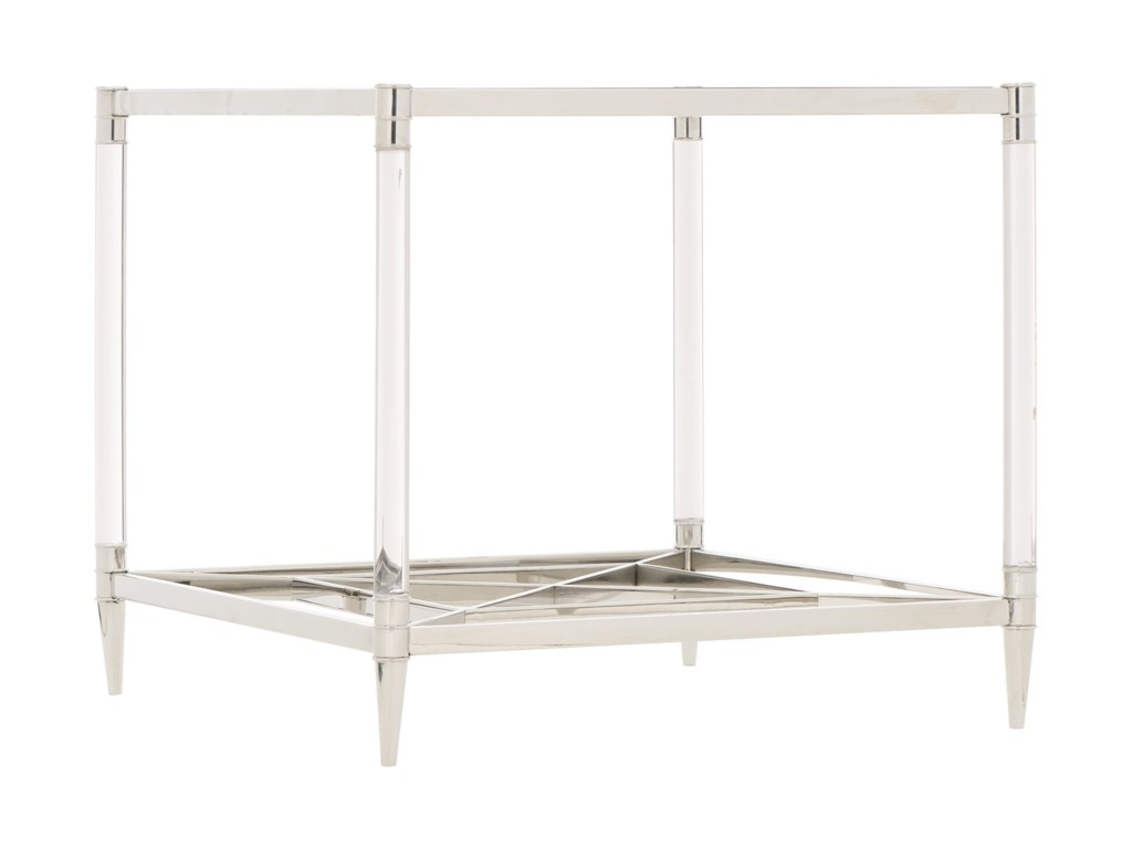 Bernhardt CelineMetal Square End Table