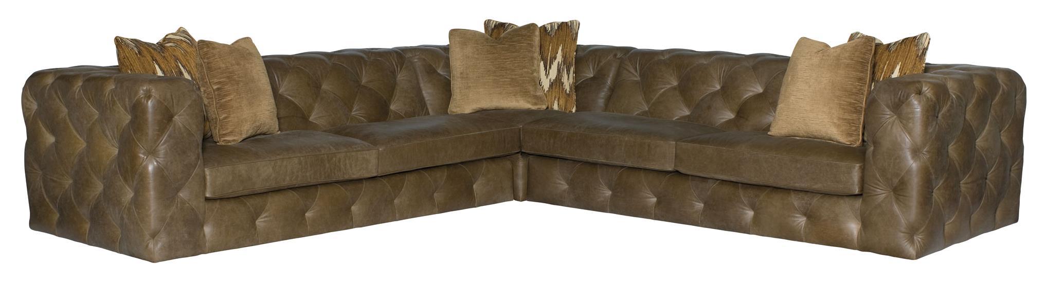 Bon Bernhardt ChelseaFour Seat Sectional Sofa ...