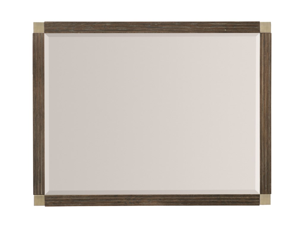 Bernhardt ClarendonRectangular Mirror with Wood Frame