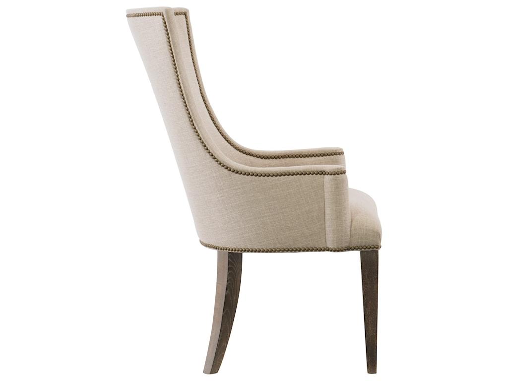Bernhardt ClarendonUpholstered Host Arm Chair