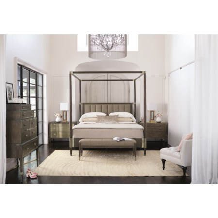 Canopy King Bed Headboard