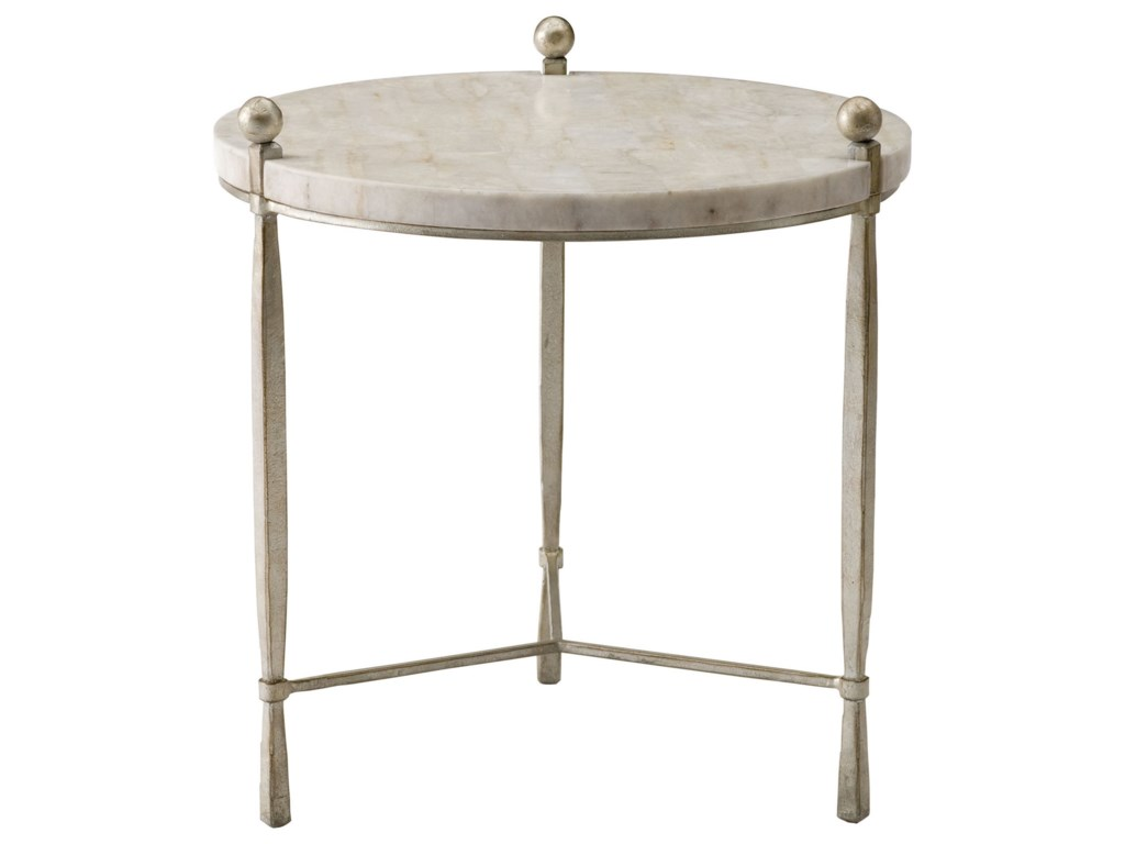 Bernhardt ClarionRound Chairside Table