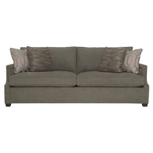 Bernhardt Clinton Sofa with Contemporary Transitional Style