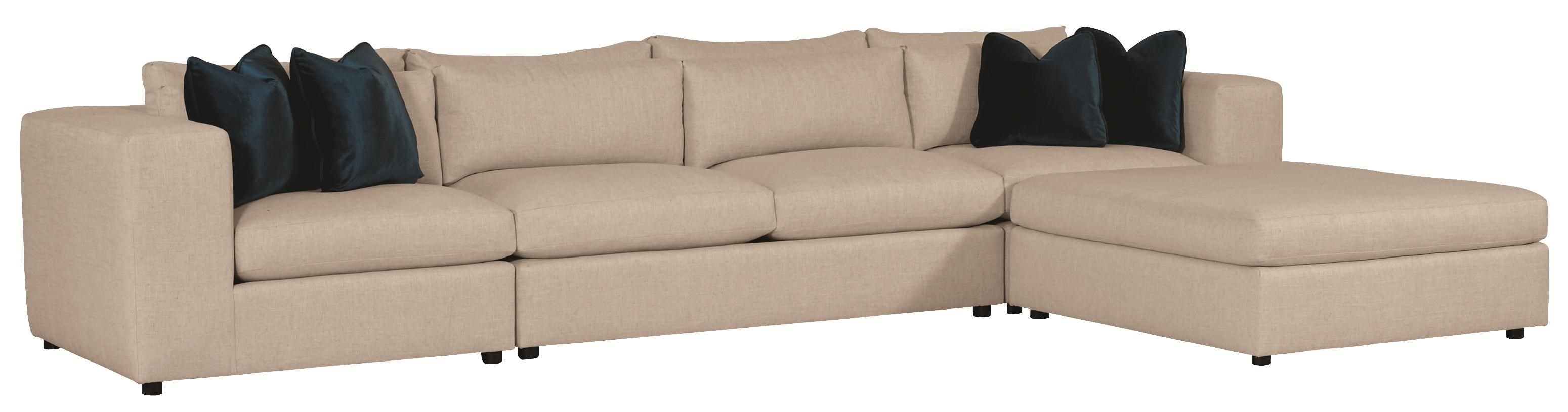 Bernhardt Como Sectional Sofa ...
