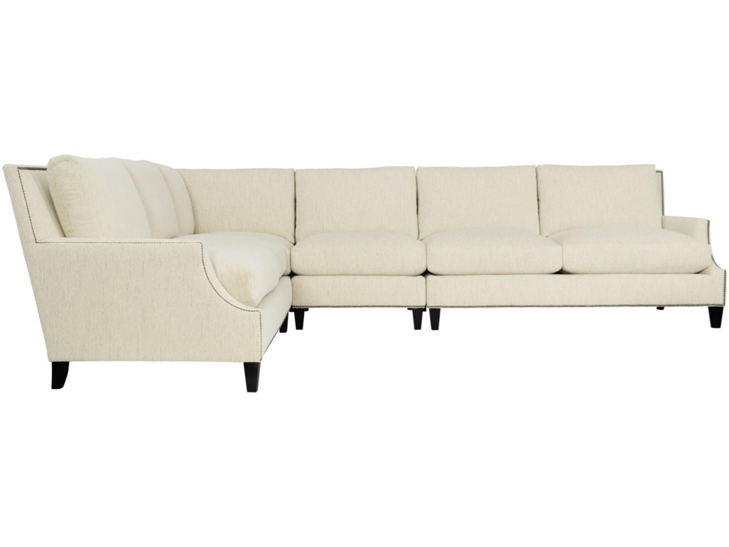 Bernhardt Crawford5-Seat Sectional Sofa
