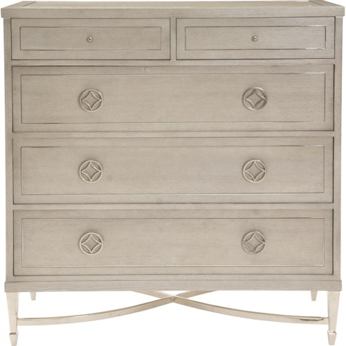 Bernhardt Criteria Drawer Chest with 2 Drop-Front Drawers