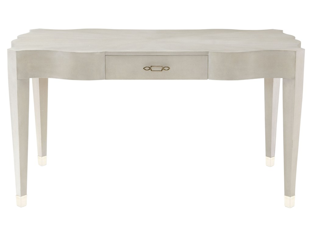 Bernhardt Criteria Leather Desk With One Drawer