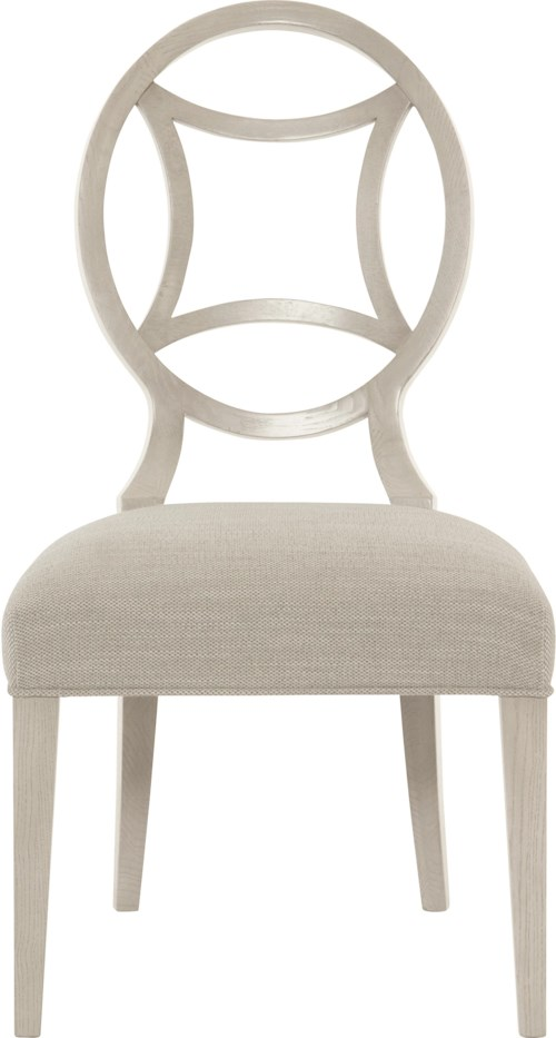 Bernhardt Criteria Side Chair with Round Splat Back
