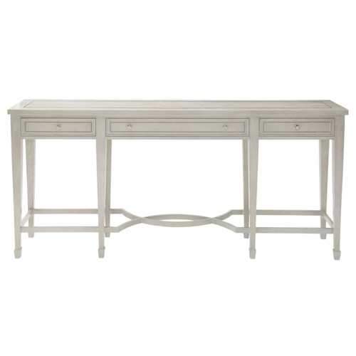 Bernhardt Criteria Console Table with 3 Drawers