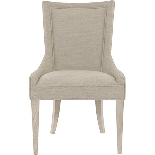 Bernhardt Criteria Customizable Sloped Arm Chair