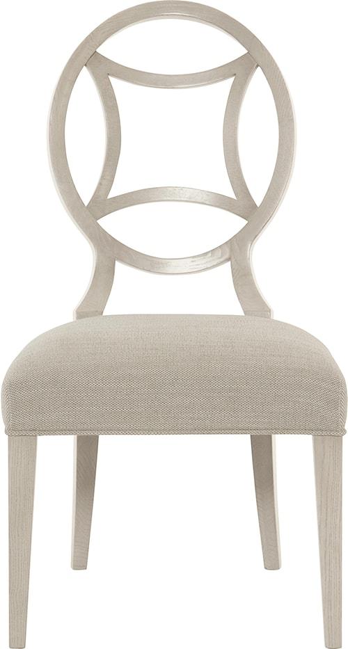 Bernhardt Criteria Customizable Side Chair with Round Splat Back