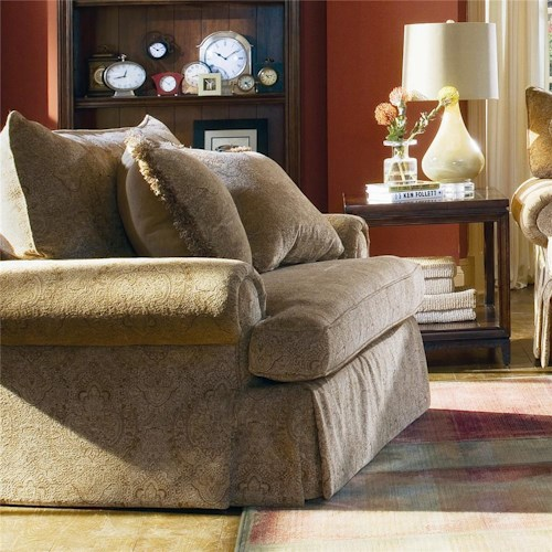Bernhardt Danielle Chair and a Half - Wayside Furniture - Chair ...