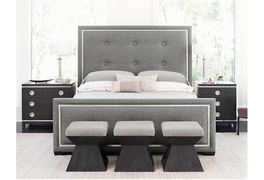 Bernhardt Decorage 380 Q Bedroom Group 1 Queen Bedroom Group Baer S Furniture Bedroom Groups