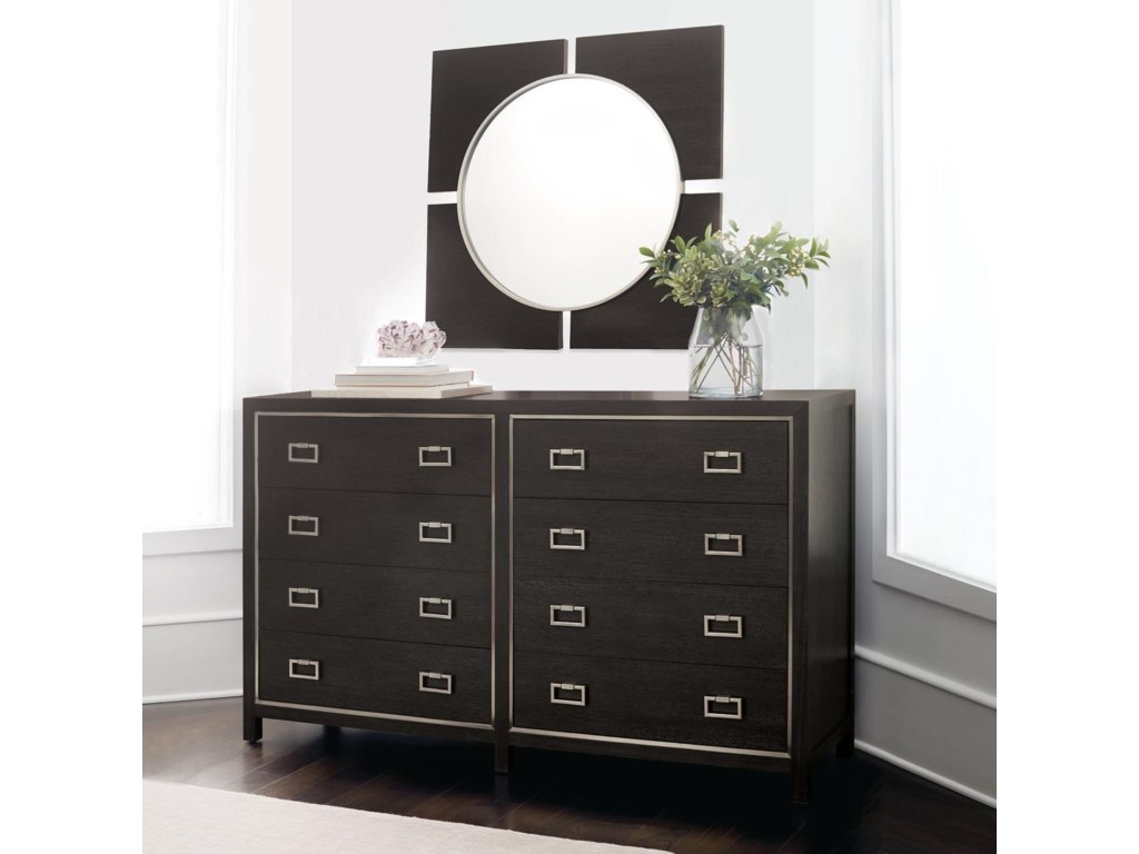 Bernhardt DecorageDresser and Mirror Set