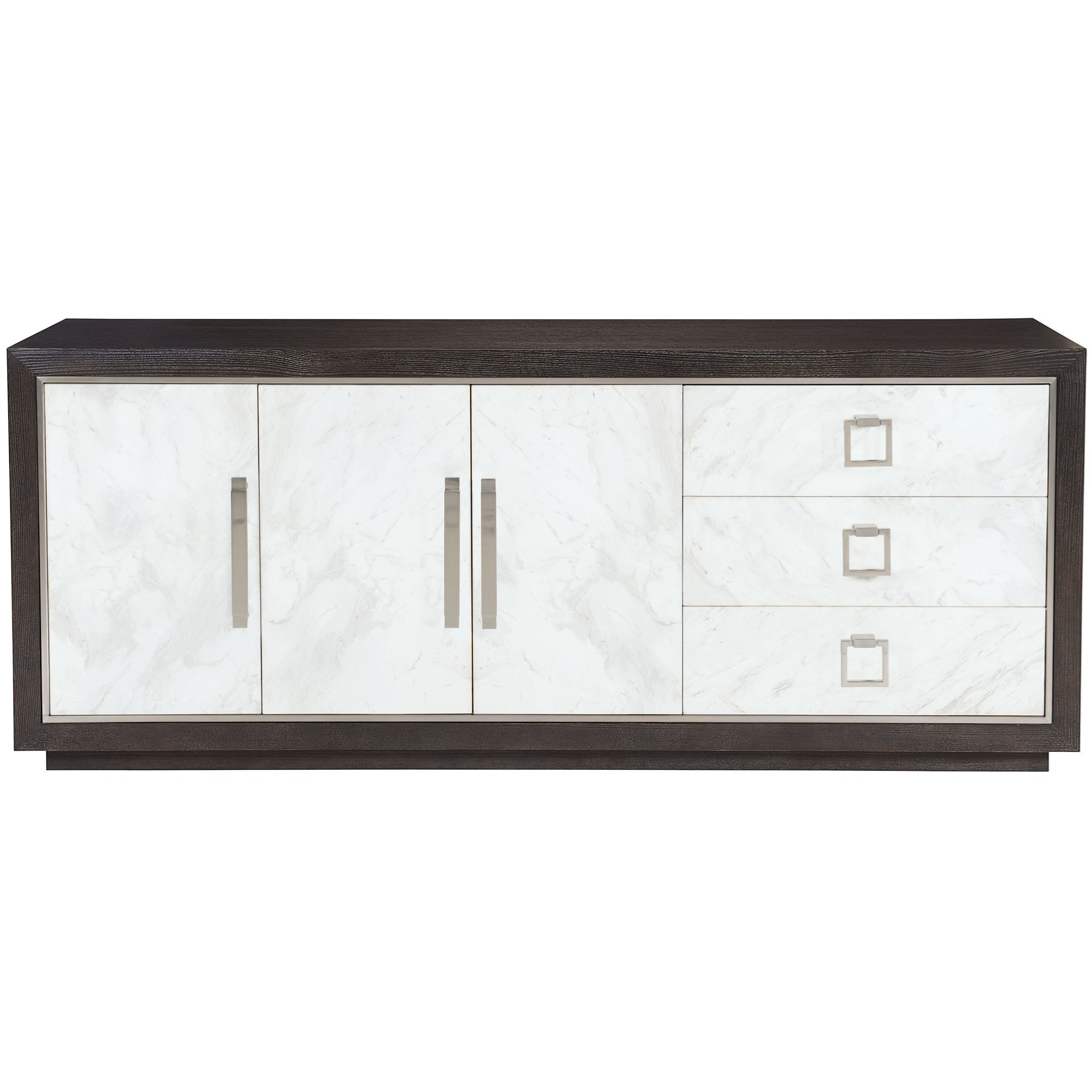 Contemporary Buffet with Laminated Marble Front
