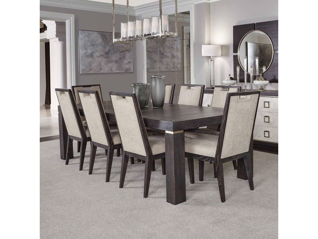 Bernhardt Decorage9 Piece Table and Chair Set