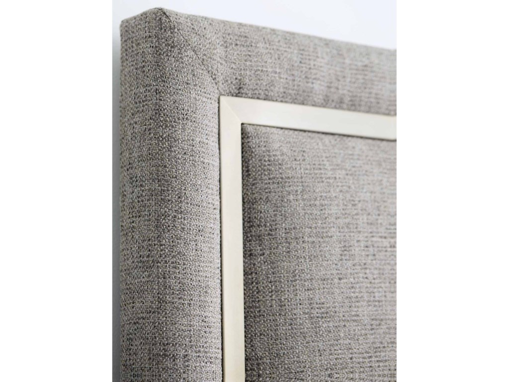 Bernhardt DecorageCalifornia King Upholstered Panel Bed