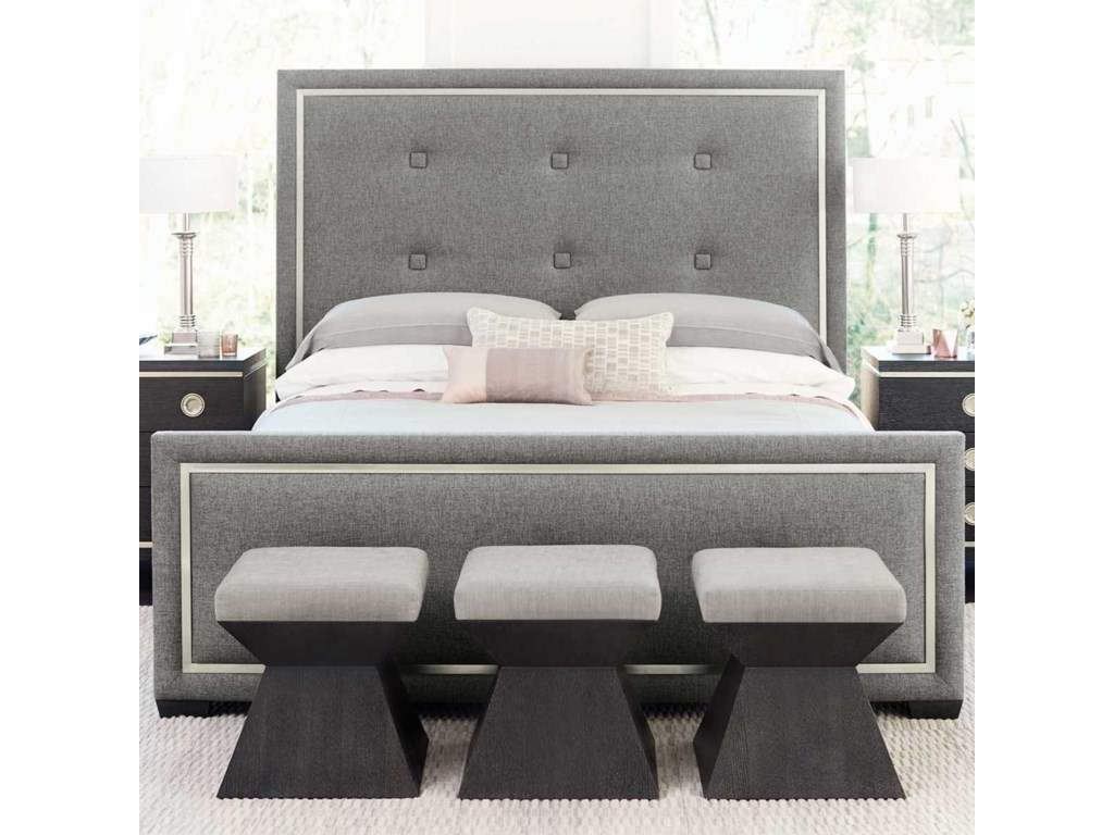 Bernhardt DecorageUpholstered Panel Bed