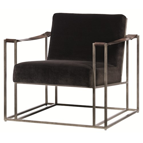 Bernhardt Dekker High End Accent Chair with Modern Style