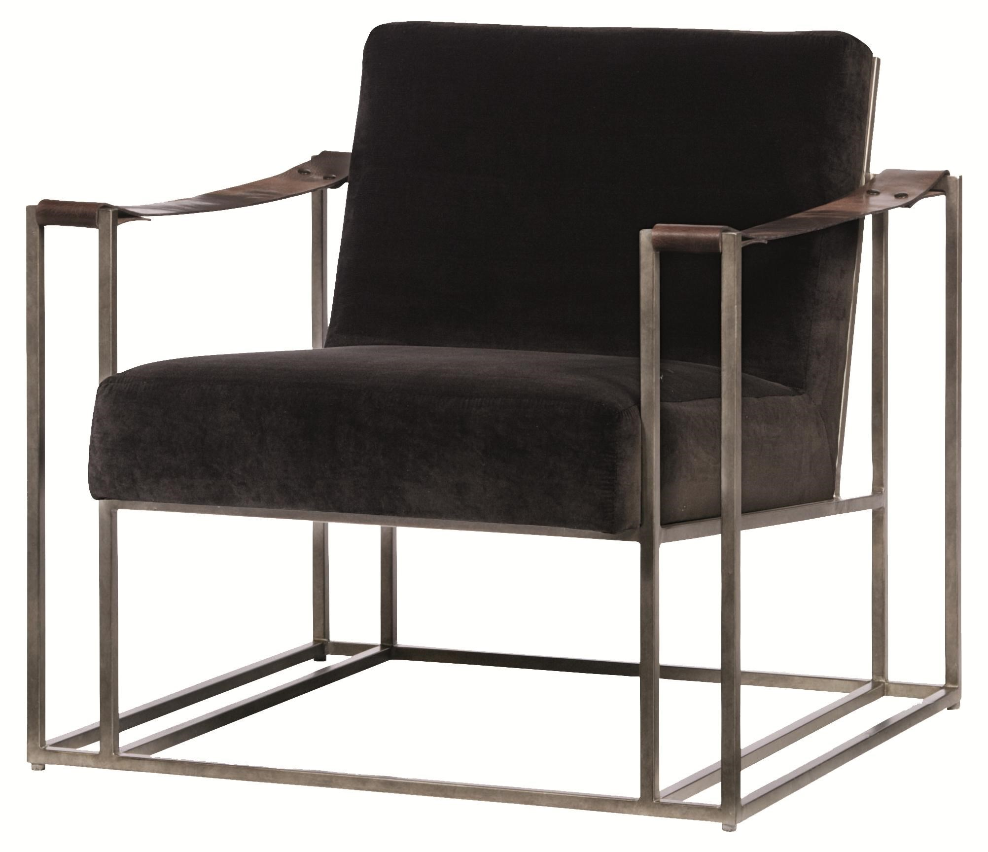 Bernhardt Dekker High End Accent Chair With Modern Style