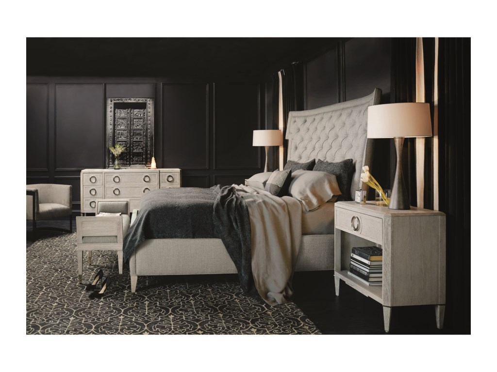 Bernhardt Domaine BlancCalifornia King Bedroom Group