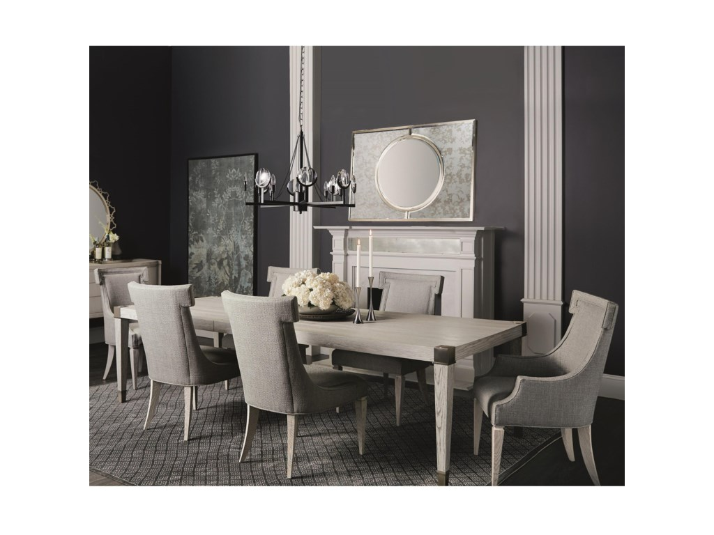 Bernhardt Domaine Blanc7 Piece Dining Set