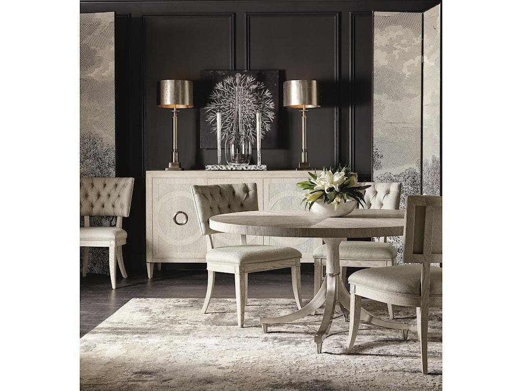 Bernhardt Domaine BlancRound Dining Table