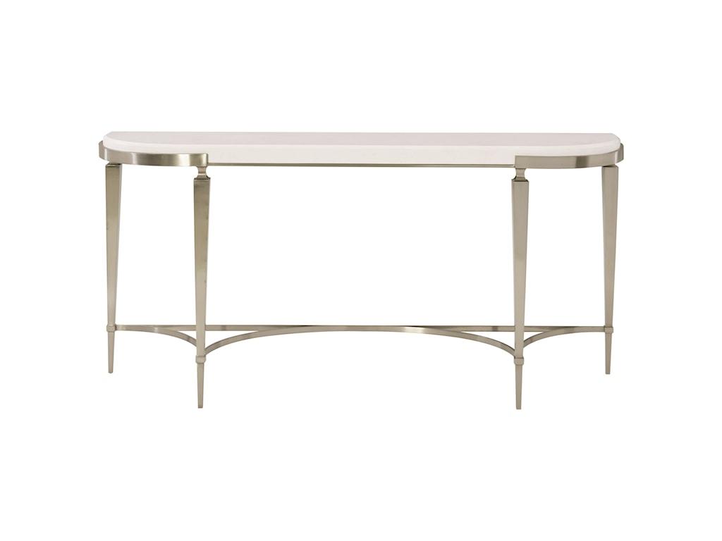 Bernhardt domaine blancdemilune console table