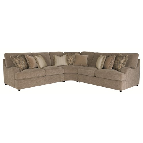 Bernhardt Eagan  Sectional Sofa with 5 Seats
