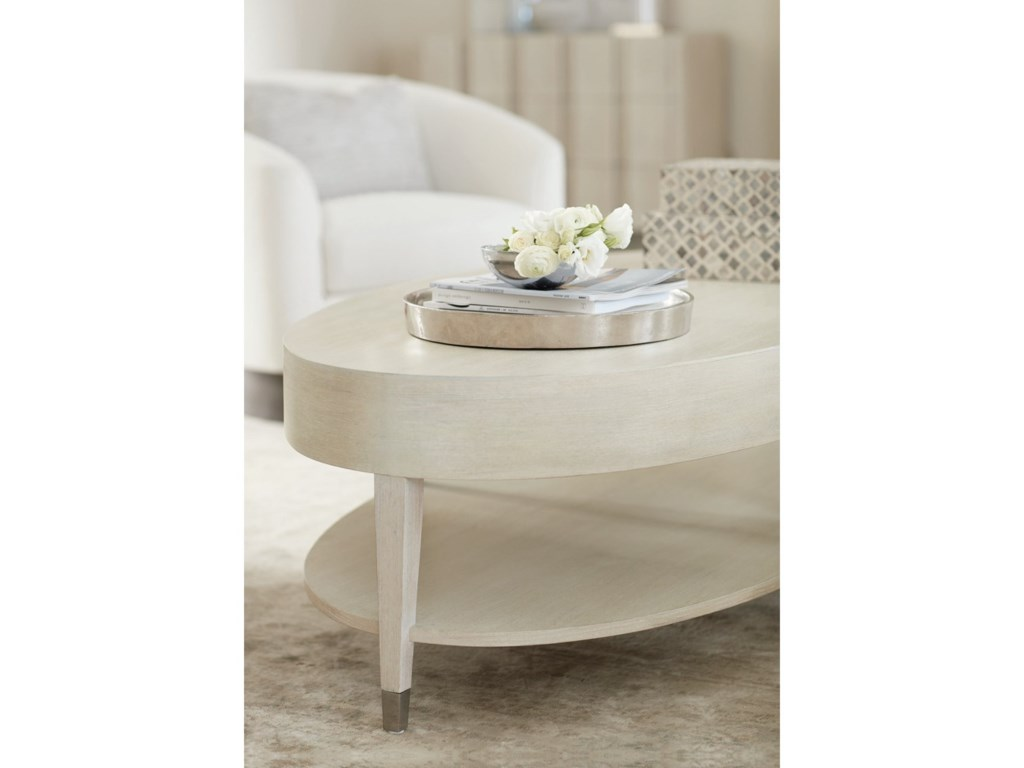 Bernhardt East HamptonOval Cocktail Table