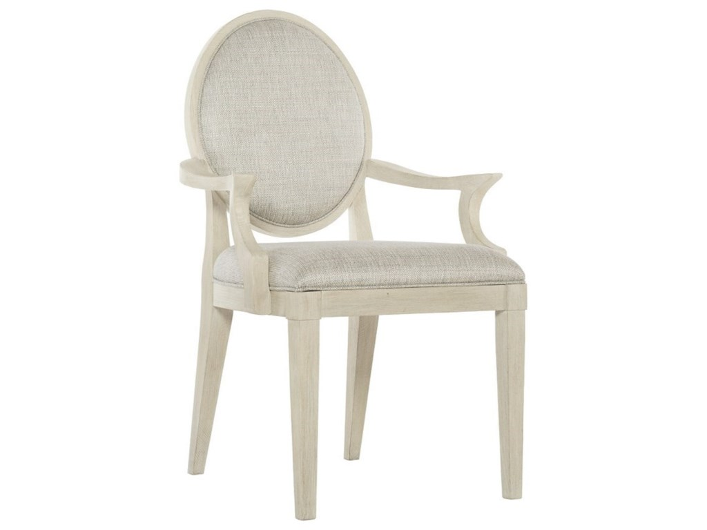 Bernhardt East HamptonCustomizable Oval Back Arm Chair