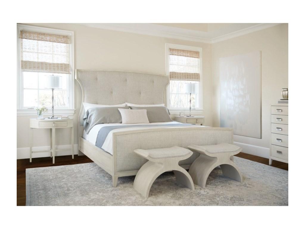 Bernhardt East HamptonUpholstered Queen Bed