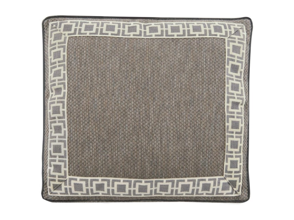 Bernhardt Exteriors - Accent PillowsAccent Pillow with Square Box Border