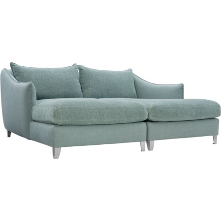Outdoor/Indoor 2-Piece Chaise Sectional