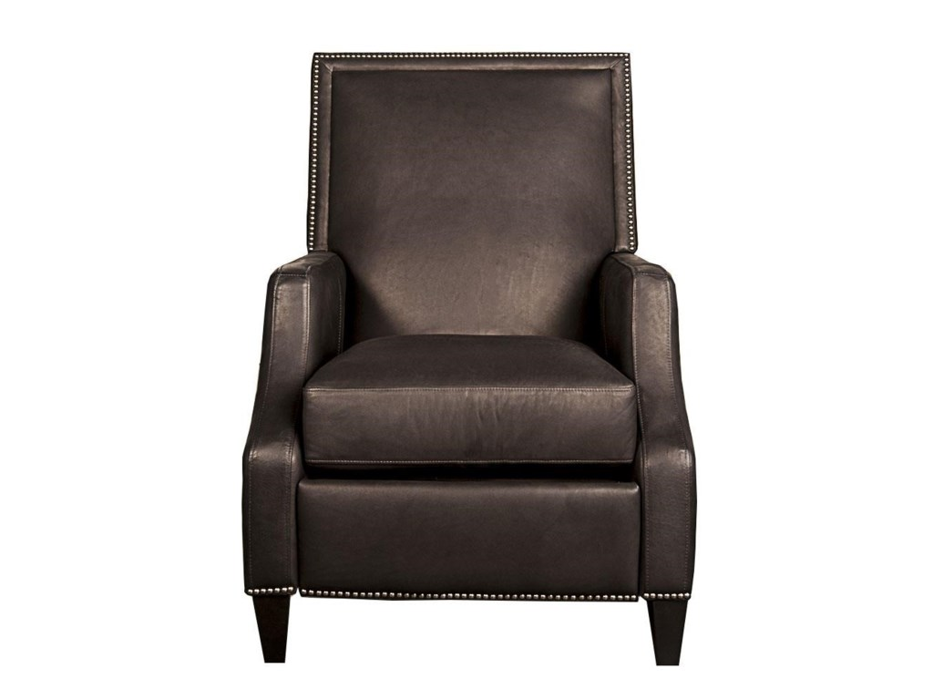 gray angled reclined gallery quarter rockefeller view leather recliner