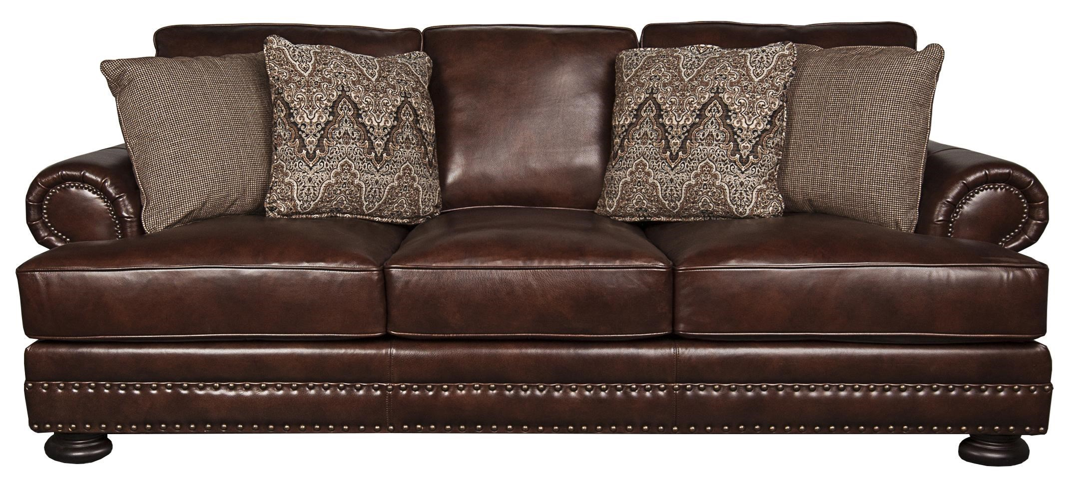 Charmant Bernhardt FosterFoster 100% Leather Sofa ...
