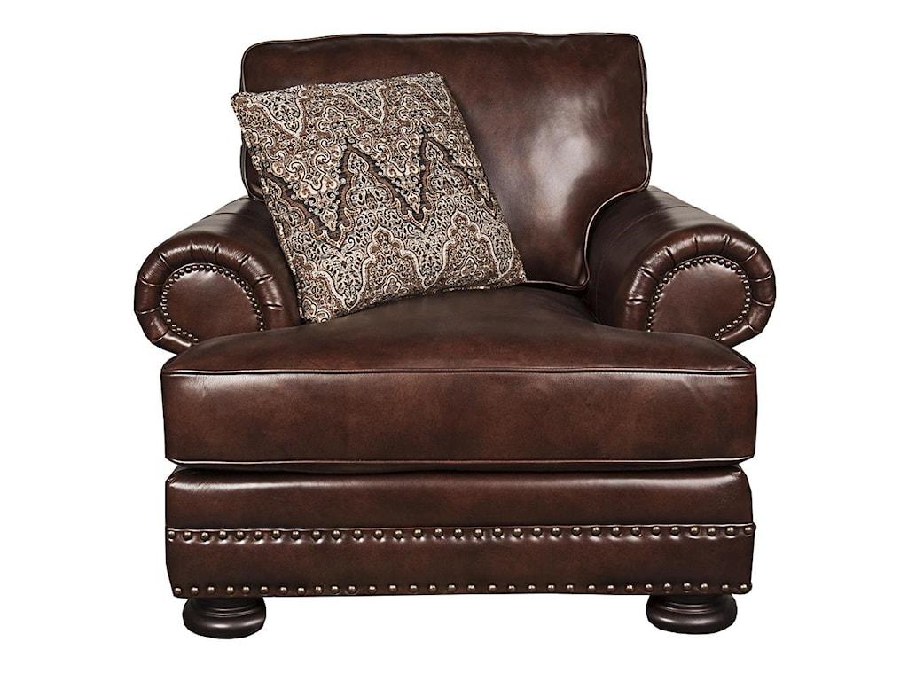 Bernhardt Fosterfoster 100 Leather Chair