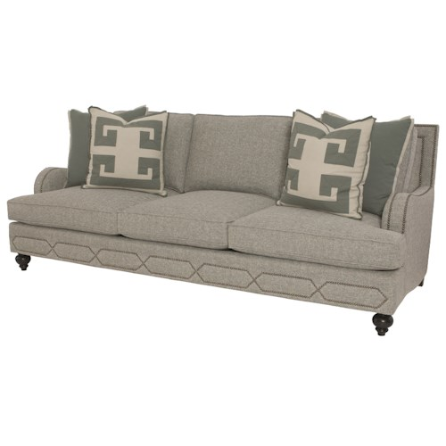 Bernhardt Franklin Sofa with Transitional Style
