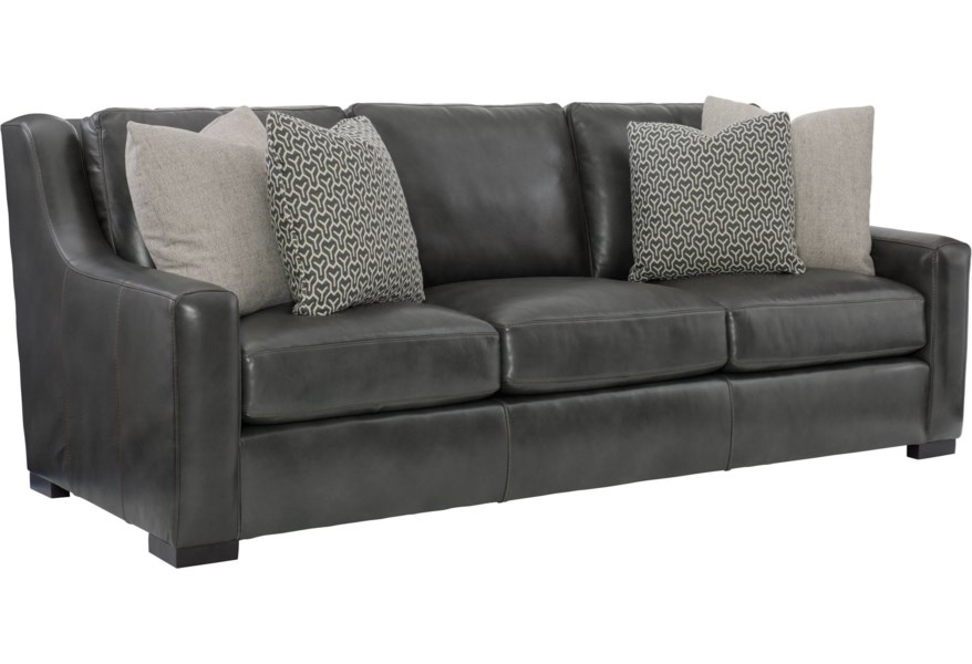 Bernhardt Germain Contemporary Sofa with Spring Down ...