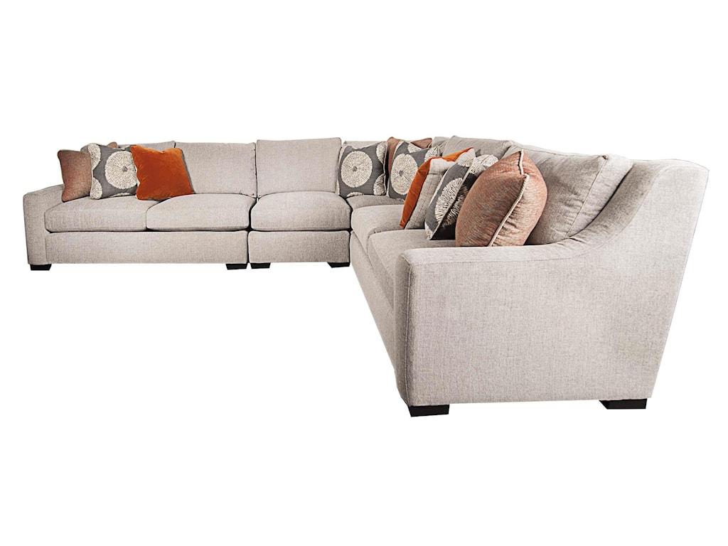 Bernhardt Germaingermain Modern Sectional Sofa