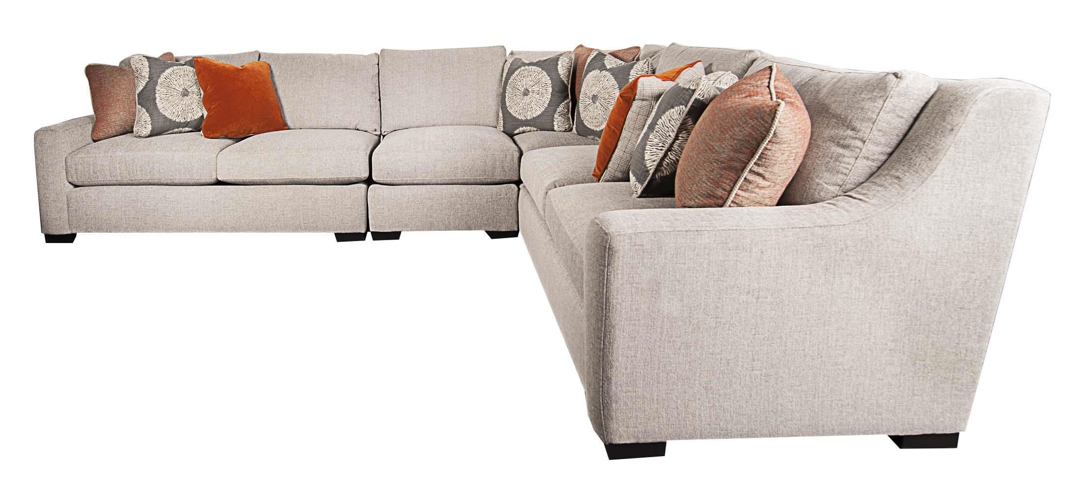 Bernhardt GermainGermain Modern Sectional Sofa; Bernhardt GermainGermain  Modern Sectional Sofa ...