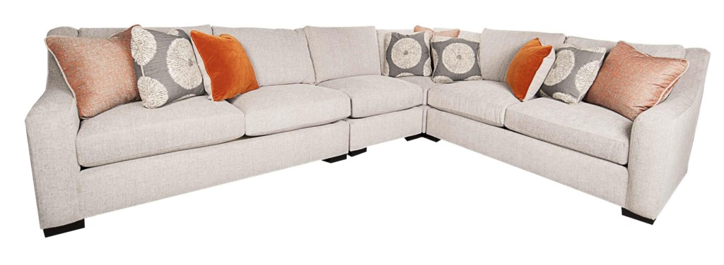 Bernhardt Germain 4 Piece Sectional Morris Home Sectional Sofas