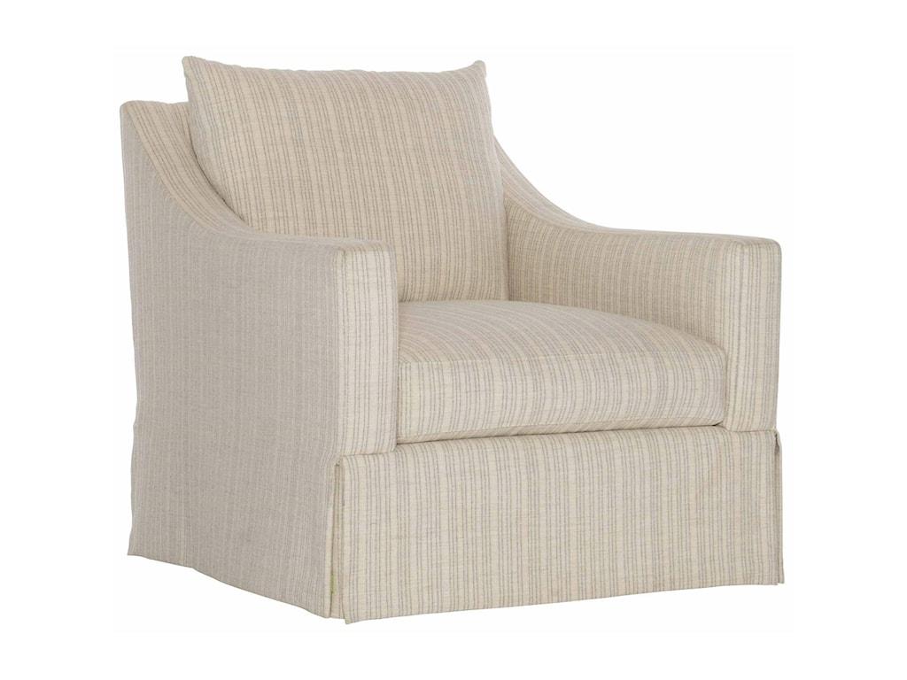Bernhardt GraceUpholstered Swivel Chair