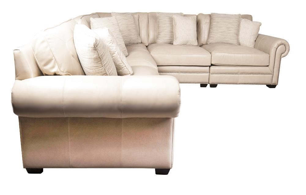 Grandview Grandview 100 Leather Sectional Sofa