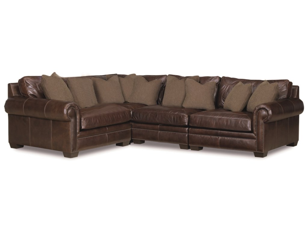 Bernhardt Grandview4 Pc Sectional Sofa