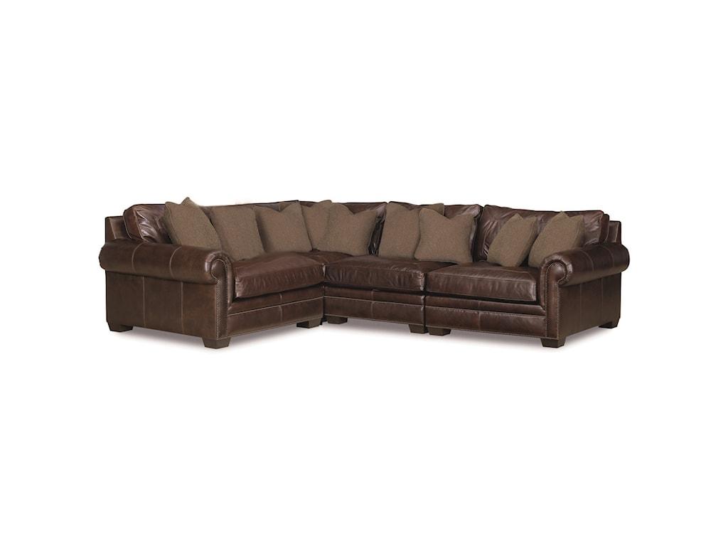 Bernhardt Grandview4 Pc Sectional Sofa