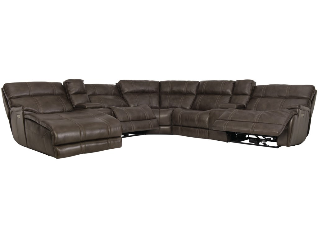 Bernhardt HartwellPower Motion Sectional